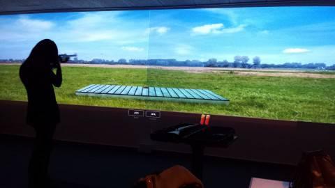 skydesimulator i Action House